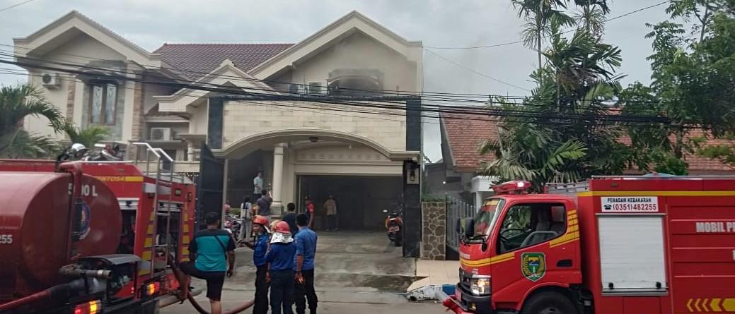 Konsleting Listrik Satu Rumah Nyaris Terbakar