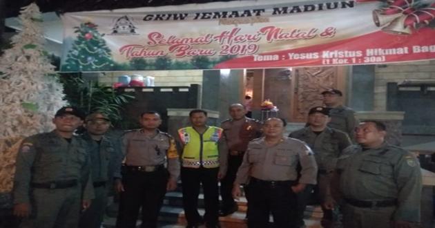 Monitoring Perayaan Natal Tahun 2018 di Wilayah Kota Madiun