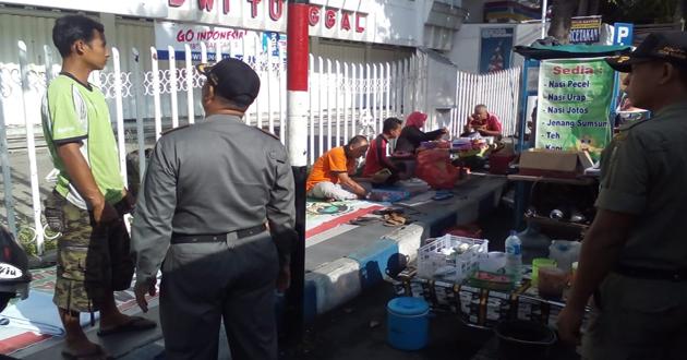 Penertiban Pedagang Kaki Lima di Wilayah Kota Madiun – Part II